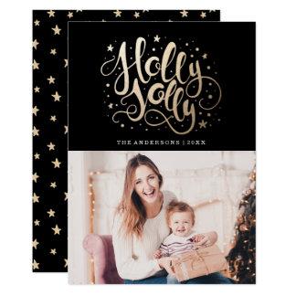 Holly Jolly | Holiday Photo Card