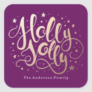 Holly Jolly | Holiday Stickers