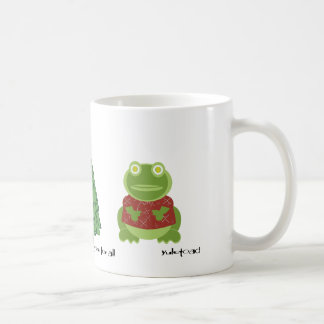 holly jolly in the forest mug