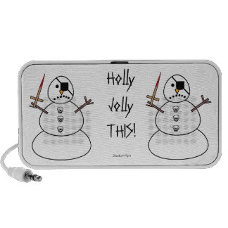 Holly Jolly This PC Speakers