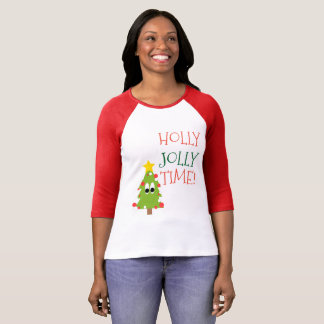Holly Jolly Time Tree T-Shirt