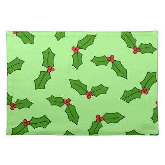 Holly Leaves Placemat