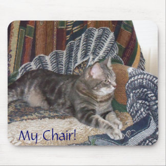 Holly My Chair Mousepad Mousepads