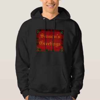 Holly on Red Plaid, Pullover