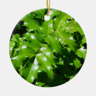 Holly Ornament