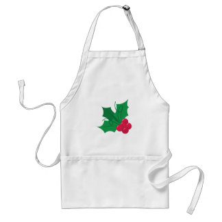 Holly Plant Apron