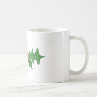 Holly Plant Basic White Mug