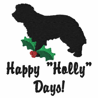 Holly Portuguese Shepherd Dog Embroidered Shirt
