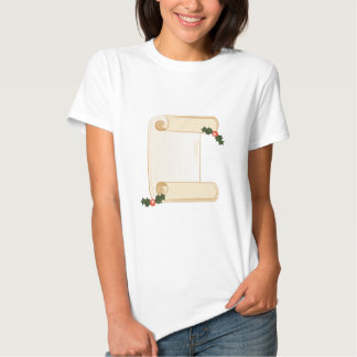 Holly Scroll T Shirts
