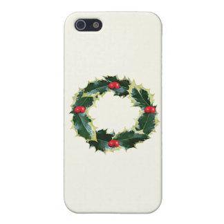 Holly Wreath iPhone 5/5S Case