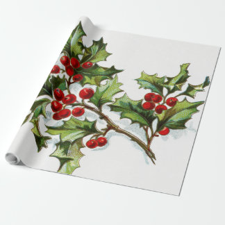 HollyBerries20150802 Wrapping Paper