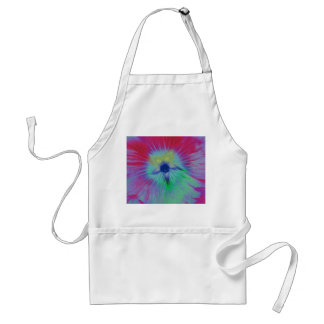 Hollyhock Flower Beight lights Apron