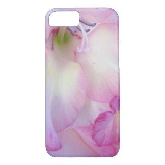 Hollyhock Purple Flowering Plant iPhone 7 Case