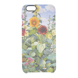 Hollyhocks and Sunflowers 2005 Clear iPhone 6/6S Case