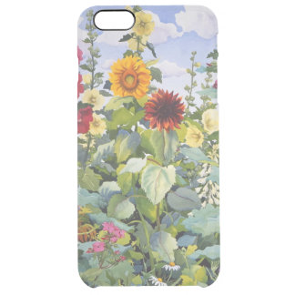 Hollyhocks and Sunflowers 2005 Clear iPhone 6 Plus Case
