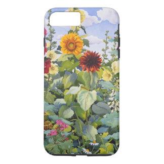 Hollyhocks and Sunflowers 2005 iPhone 8 Plus/7 Plus Case