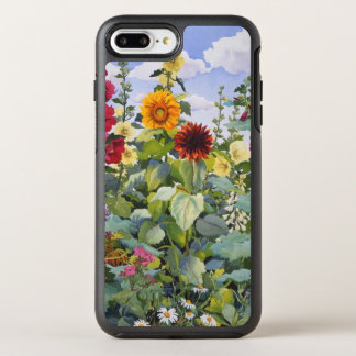 Hollyhocks and Sunflowers 2005 OtterBox Symmetry iPhone 8 Plus/7 Plus Case