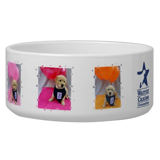Holly's Half Dozen picture pet bowl