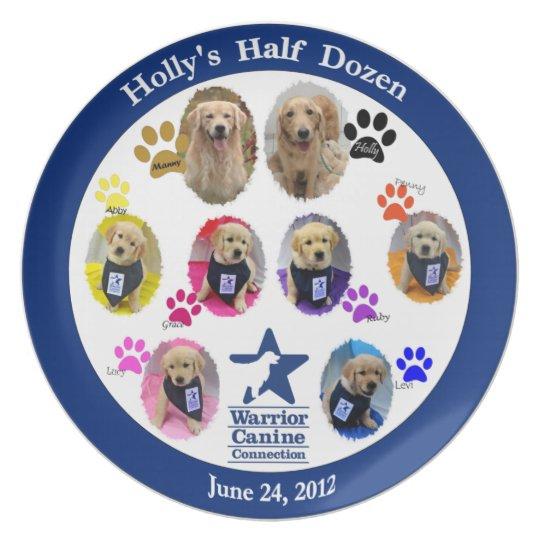 Holly's Half Dozen plate