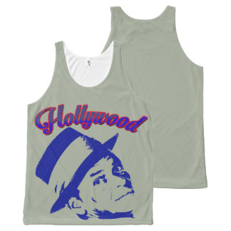 Hollywood All-Over Print Tank Top
