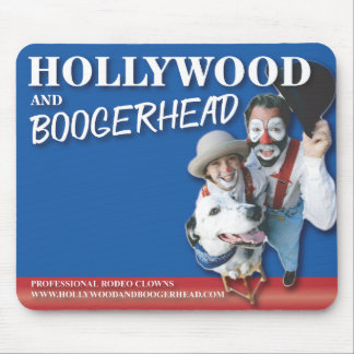 Hollywood and Boogerhead Mouse Pad