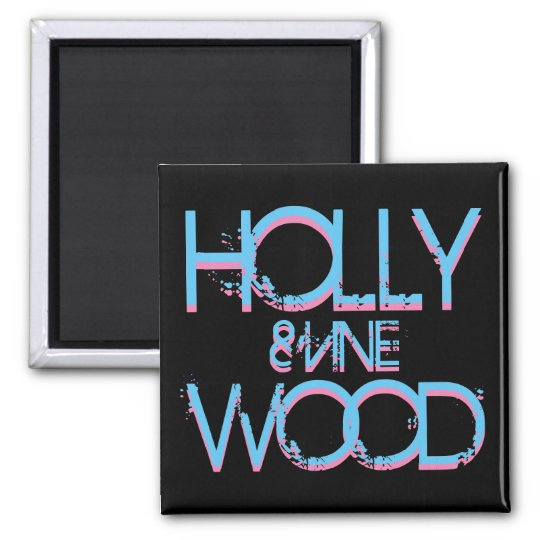 Hollywood and Vine Magnet