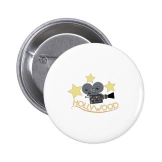 Hollywood 6 Cm Round Badge