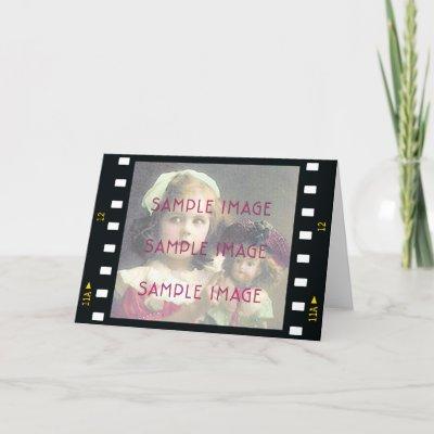 Hollywood Birthday Invitation Template Card by postcard