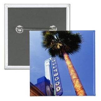 Hollywood Boulevard, Los Angeles 15 Cm Square Badge