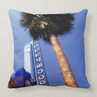 Hollywood Boulevard, Los Angeles Throw Pillow