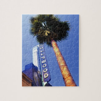 Hollywood Boulevard, Los Angeles Jigsaw Puzzle