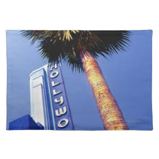 Hollywood Boulevard, Los Angeles Placemat