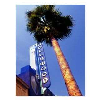 Hollywood Boulevard, Los Angeles Postcard