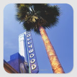 Hollywood Boulevard, Los Angeles Square Sticker