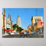 Hollywood Boulevard, Los Angeles Vintage Posters