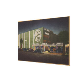 Hollywood, CAEarl Carroll Theatre & Restaurant Canvas Print