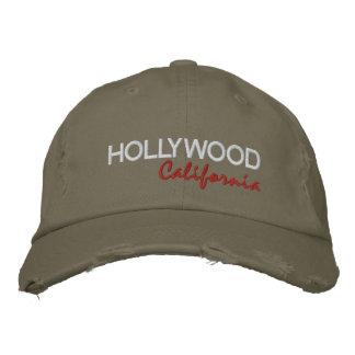 HOLLYWOOD, California Embroidered Baseball Caps