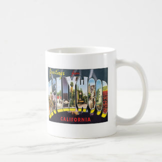 Hollywood California USA Coffee Mug
