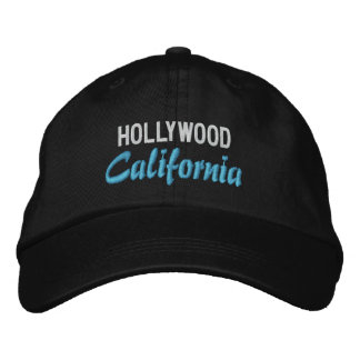 HOLLYWOOD cap Embroidered Hats