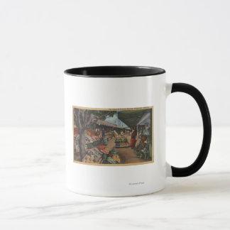 Hollywood, CAView of Original Farmer's Market Mug