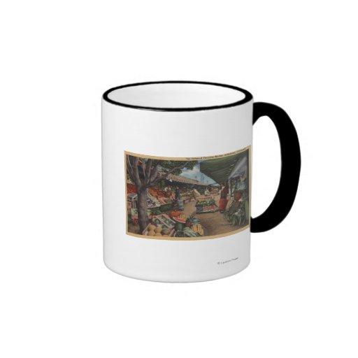 Hollywood, CAView of Original Farmer's Market Coffee Mug