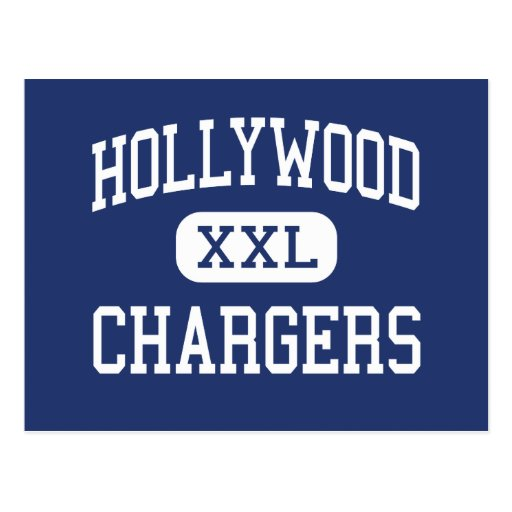 Hollywood Chargers Middle Shreveport Postcards