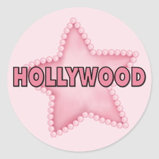 Hollywood Classic Round Sticker