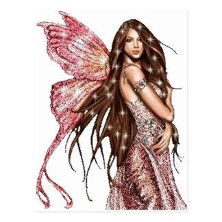 Hollywood Fairy Postcard