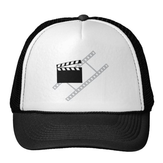 hollywood film clapper cap