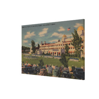 Hollywood, FL - Cadet Parade at Military Academy Canvas Print