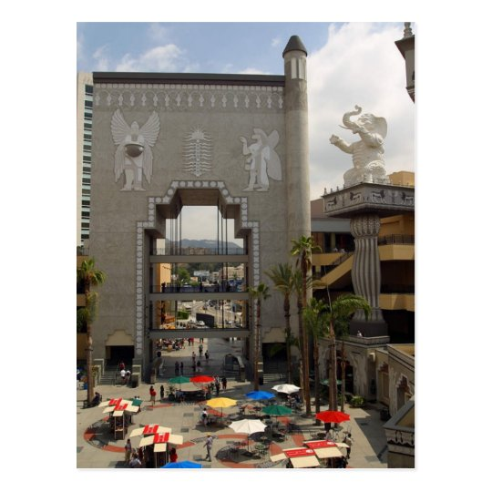 Hollywood Highland Shopping Centre In Los Angeles Postcard
