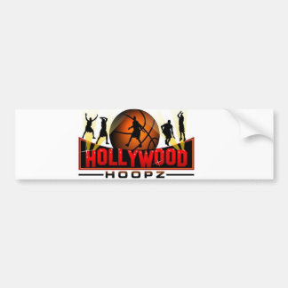 Hollywood Hoopz  Bumper Sticker