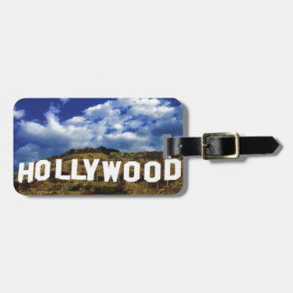 HOLLYWOOD LUGGAGE TAG
