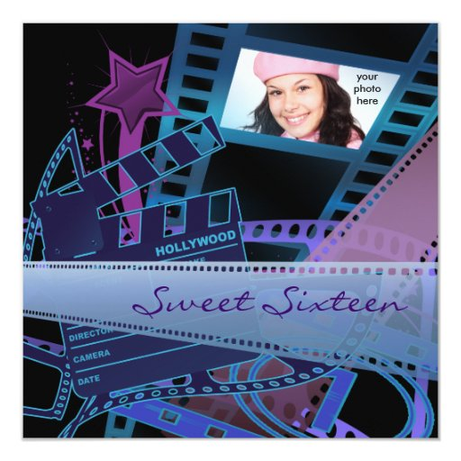Hollywood Movie Star Sweet 16 Birthday Party